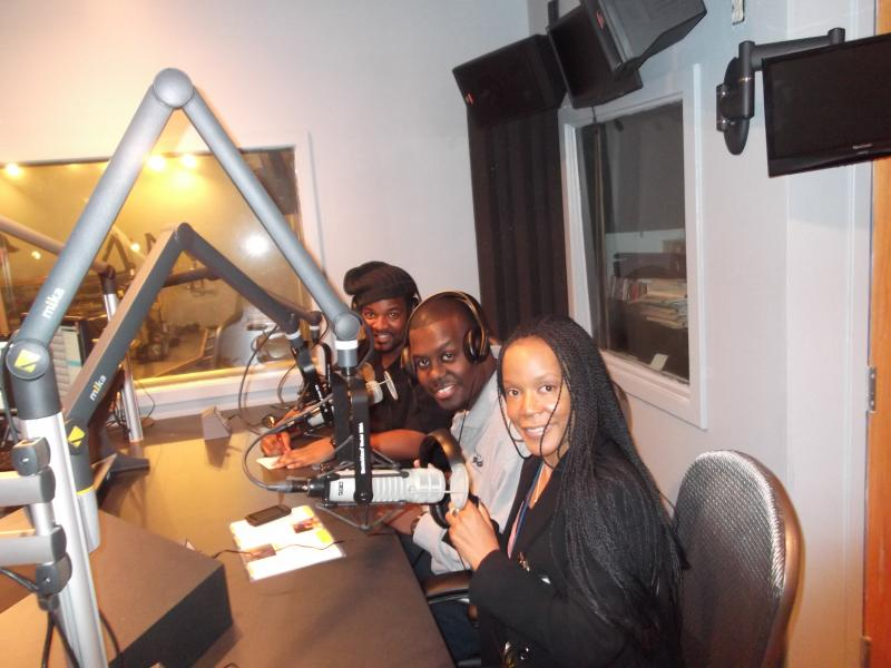 Adayal, Greg, and Mike on the Romeo Devine Radio Show